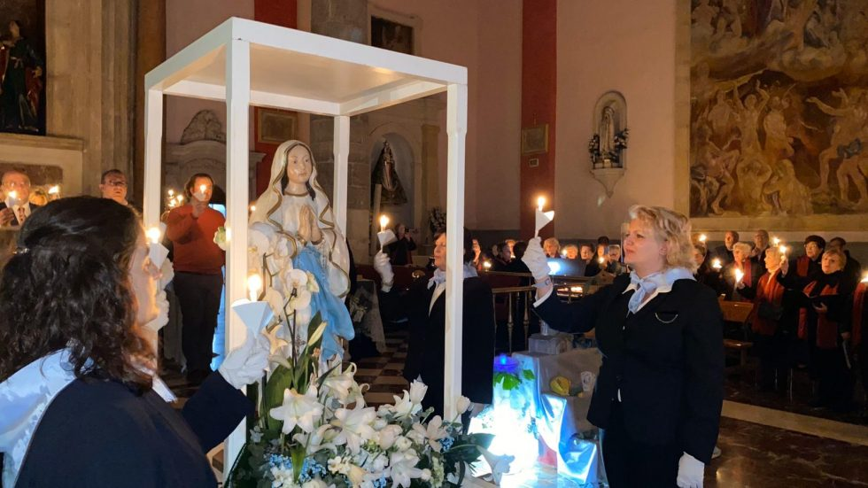 Donation by the «Domiciliaria» Chapel of the San Antolín Church