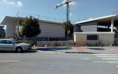 The building of the new Centre Under Way: We can now see positive progress
